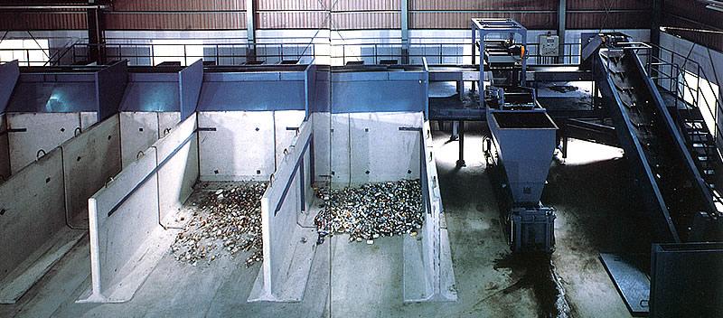 リサイクルシステムプラント