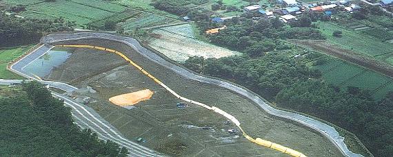一般廃棄物最終処分場防水システム(草津ウェイストパーク)